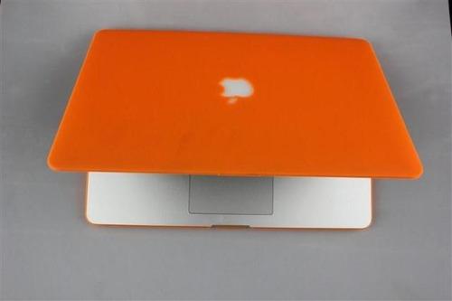 carcasa macbook pro 13 con cd  varios colores - logo manzana