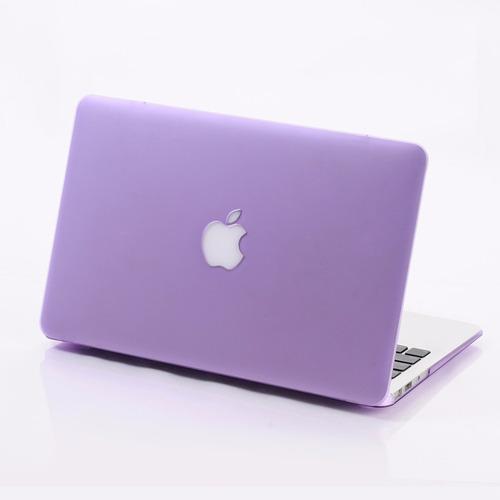 carcasa mate para macbook pro 13  varios colores - manzana