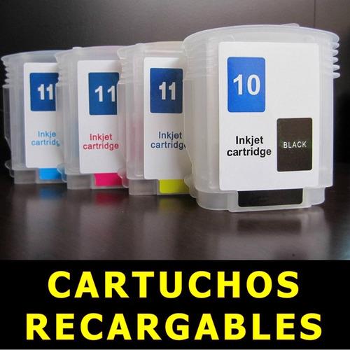 cartuchos recargables hp 10 hp 11 hp 88