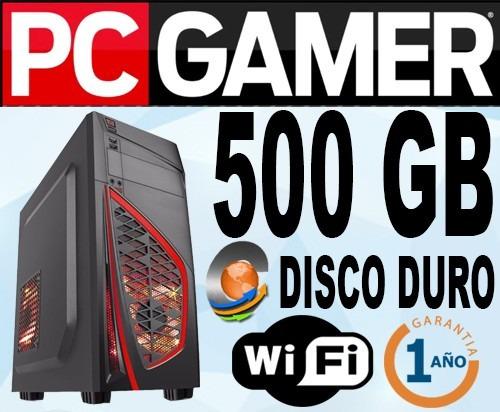 cpu gamers-targeta grafica geforce1gb ddr3-500gb-4gb-wifi-