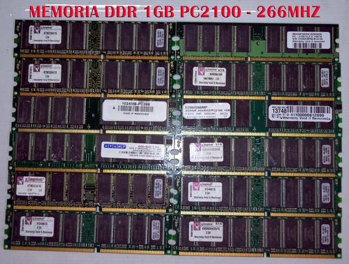 1 gb ram pc2100: