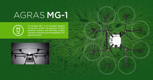 dji agras mg-1 drone para fumigacion