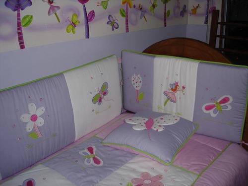 lenceria bebe colecho cama cuna corral cuarto decoración