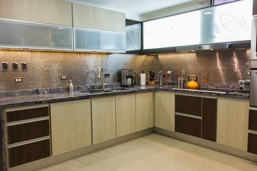 Malla de acero inoxidable para cocinas integrales 70 - Cocina de acero inoxidable precio ...