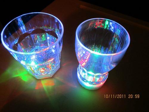 manillas neón,gafas neon,copas led,hora loca,hielos led