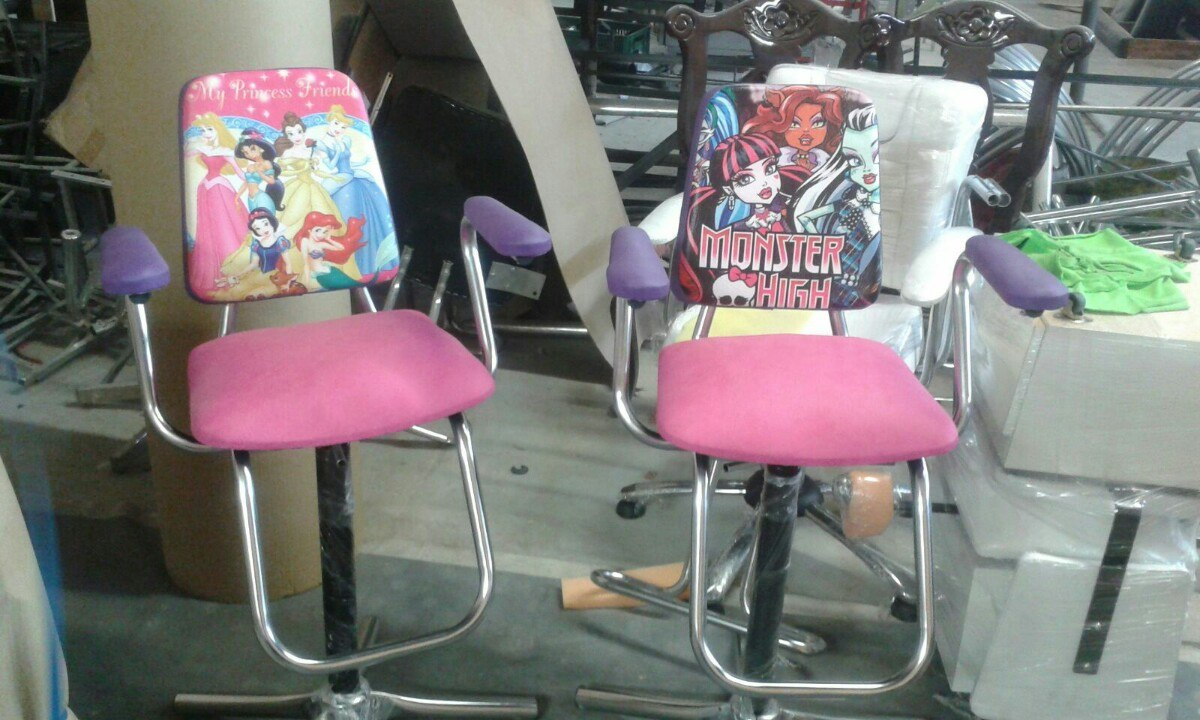 Muebles de peluqueria para ninos 20170727144700 for Sillas para salon