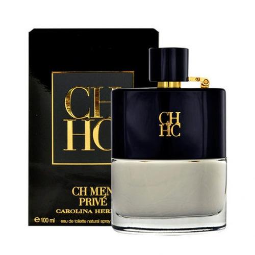 perfume ch men prive carolina herrera 100 ml original nuevo