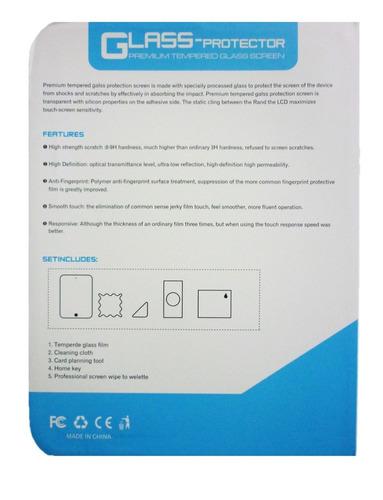 protector pantalla vidrio templado ipad mini 1 2 3