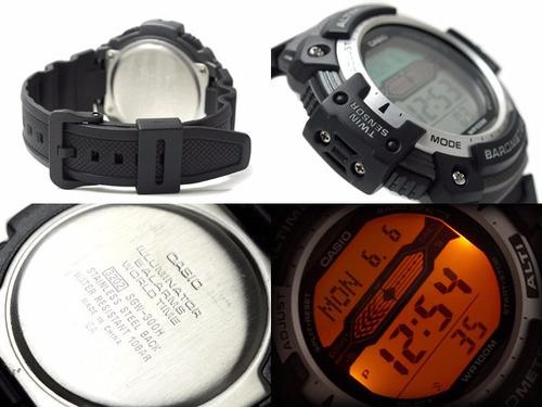 reloj casio sgw 300 acero altimetro barometro termometro