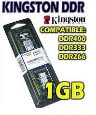 remate de memoria ddr1 de 1gb par pc garantizada