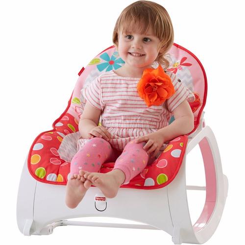 silla crece conmigo fisher  vibradora bebe d lujo-hasta 18kg