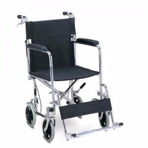 silla de ruedas de transporte con freno de mano ref ref fs97