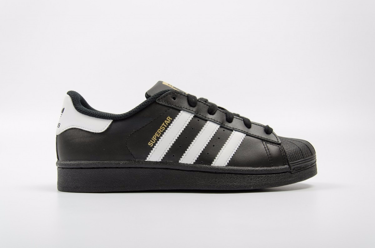 adidas superstar negras zapatos