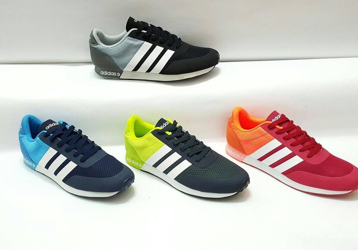 zapatillas adidas neo azul
