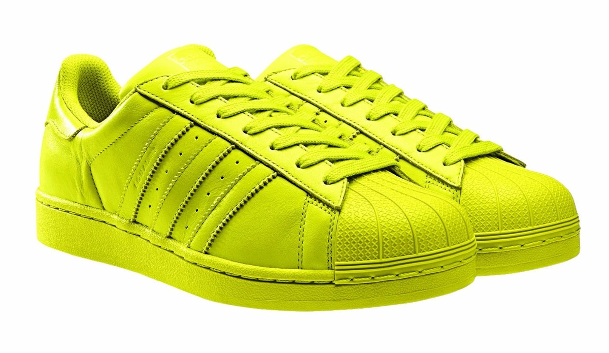 adidas verde fluorescente